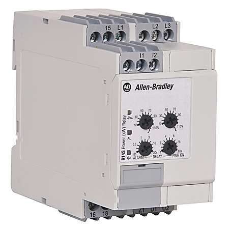 814S-PF3-480V-10A AB MACHINEALERT POWER FACTOR RELAY 61259896577