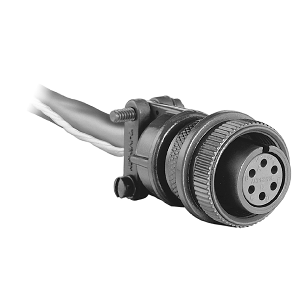 845-CA-PY-25 AB FLEXIBLE COUPLING,PRE-WIRED CABLE ASSEMBLY,10 PIN (845T-PY),25 FEET