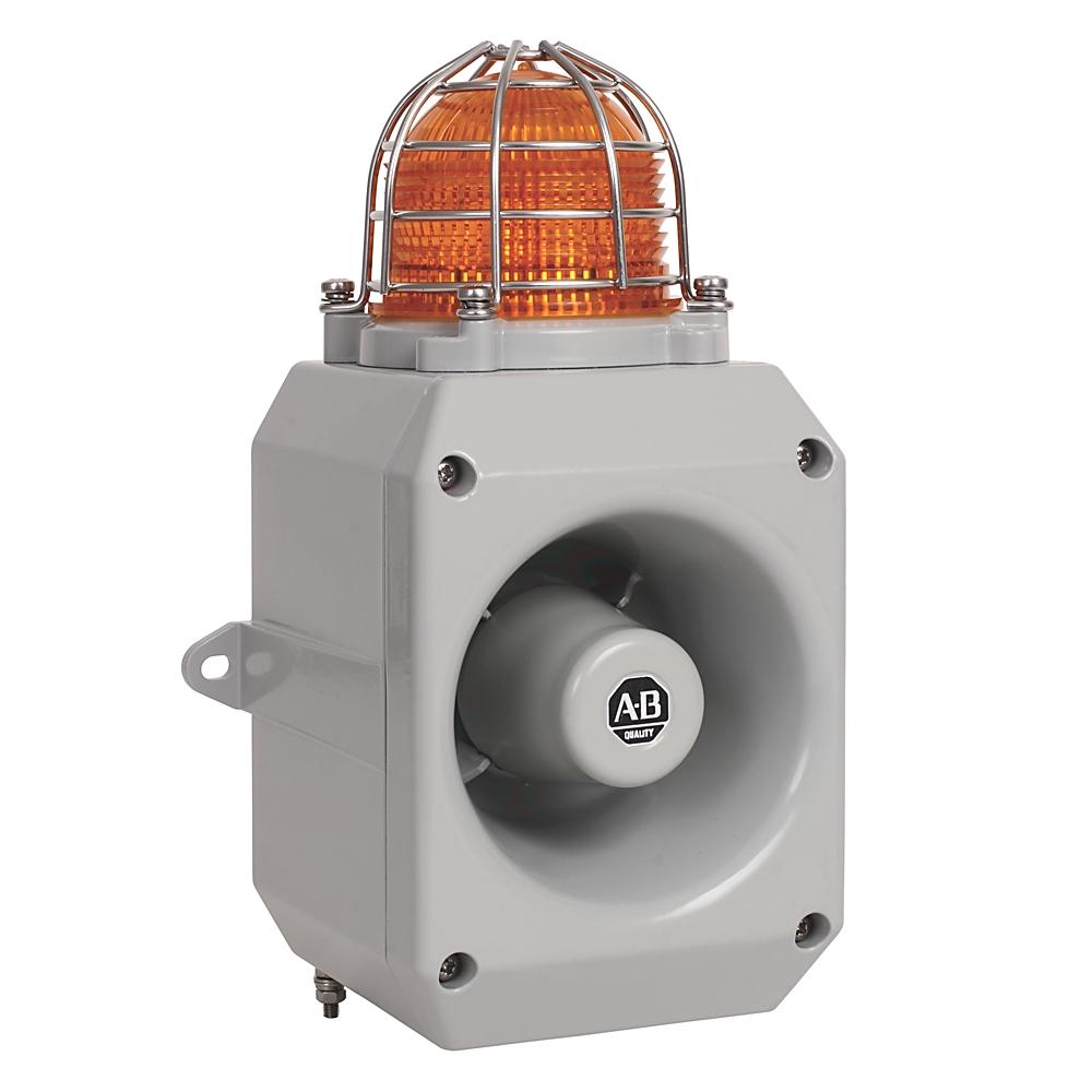 855XM-CGMD24DA5 AB 24V DC HAZLOC METAL HORN AND BEACON