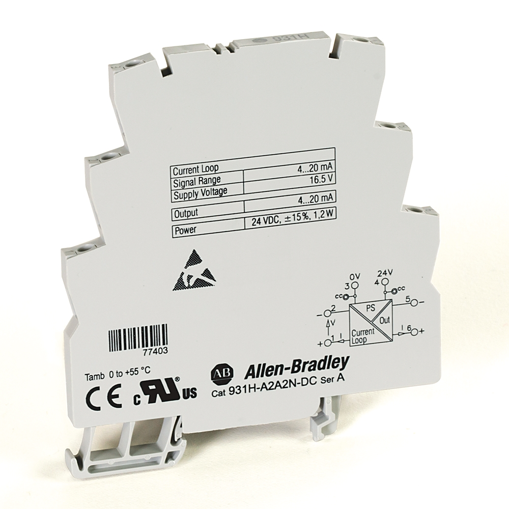 931H-A2A2N-DC AB ACTIVE ISOLATOR, 3 WAY