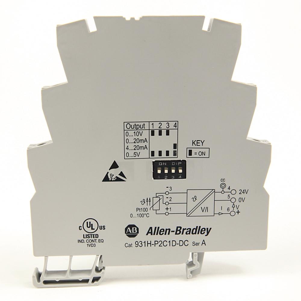 Allen-Bradley,931H-P2C1D-DC,Active PT100-RTD Signal Converter