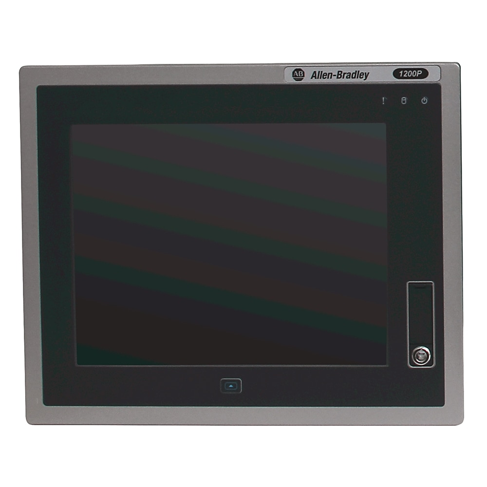 6181P-12A2MW71AC AB INTEGRATED DISPLAY INDUSTRIAL COMPUTER,12.1