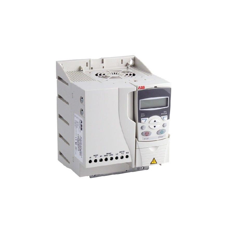 ABB ACS355-03U-23A1-4+J404 ACS355-015 HP, WALL MNT,R3 FRAME, THREEPHASE INPUT,480 VAC, IP 20 - BASICPANEL (3AUA0000078281)