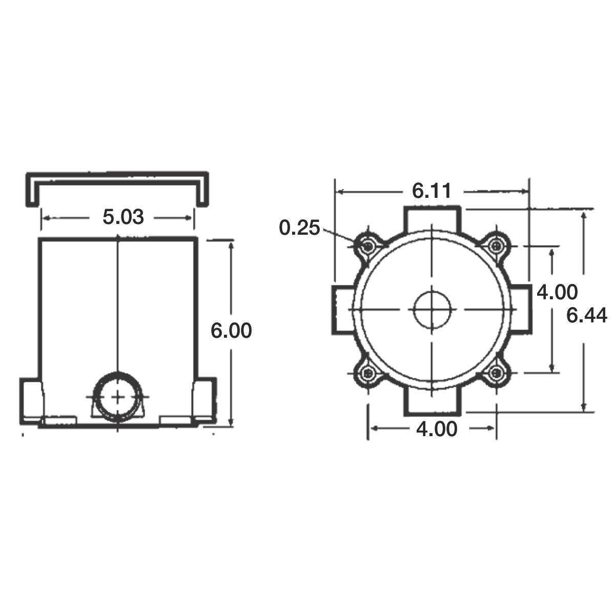 Floor Boxes T Amp B Carlon E971fb Van Meter Inc