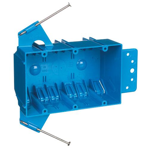 CAR B344AB 3G 44 CU IN ZIP BOX W/FLANGE