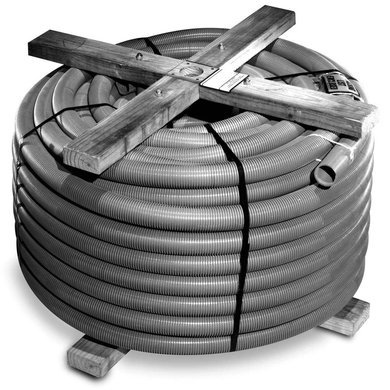 Carlon,11813-250,Carlon® P&C® Flex™ 11813-250 Corrugated Flexible Non-Metallic Conduit, 3 in Trade, 3.06 in ID x 3-1/2 in OD, 250 ft L