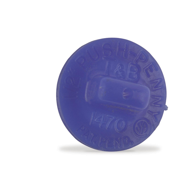3/4 Inch Non Metallic Push Penny, Polyethylene for Use with Rigid/IMC Conduit