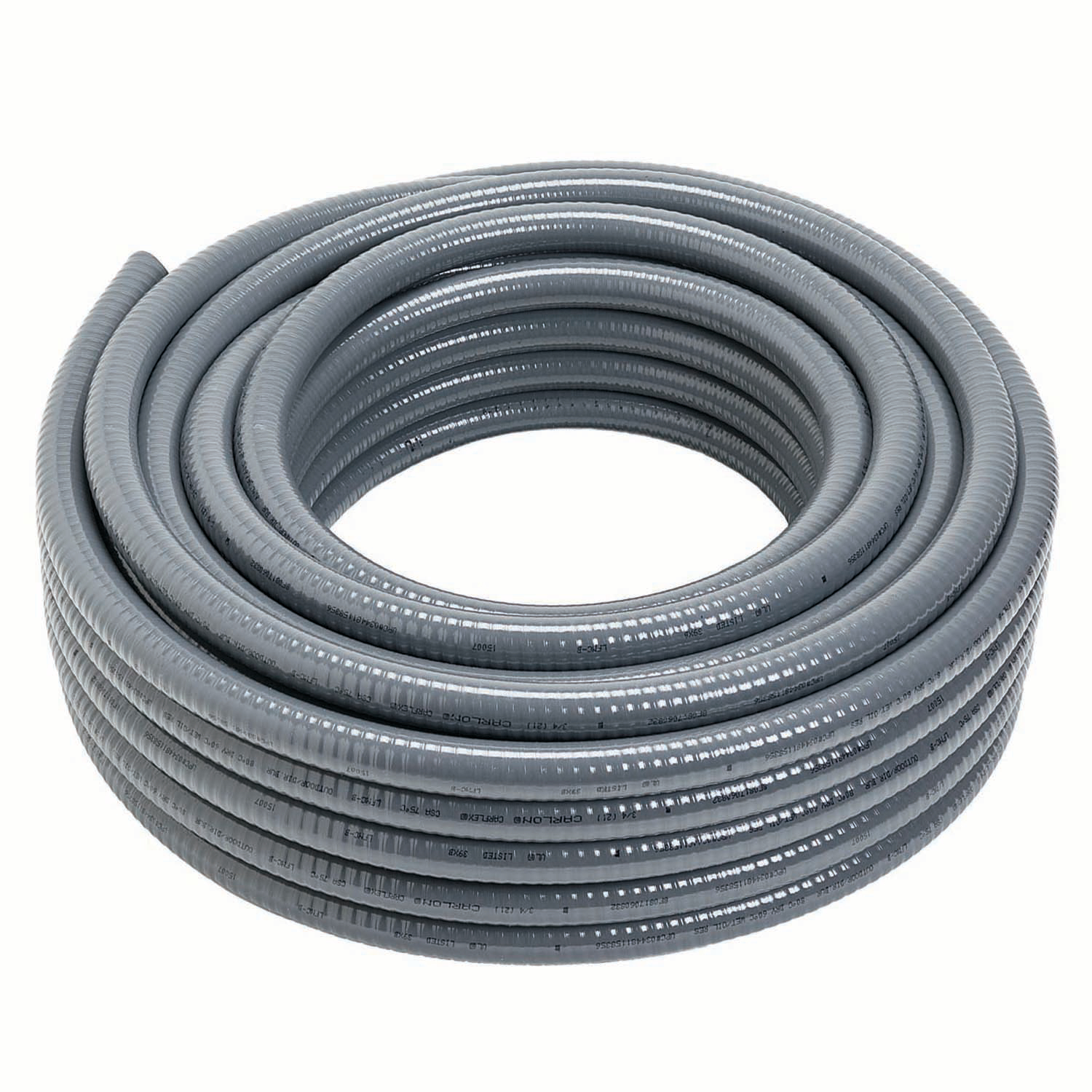 Carlon,15008-100,Carlon® 15008-100 LFNC-B Liquidtight Flexible Conduit, 1 in Trade, 1.046 in ID x 1.302 in OD, 100 ft L, PVC