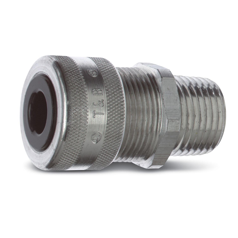THB2932AL TC 2932AL 3/4IN RANGER ALUM CORDCONN;T&B® 2932AL Ranger® Strain Relief Straight Liquidtight Cord Connector, 3/4 in Trade, 1/2 to 3/4 in Cable Openings, Aluminum