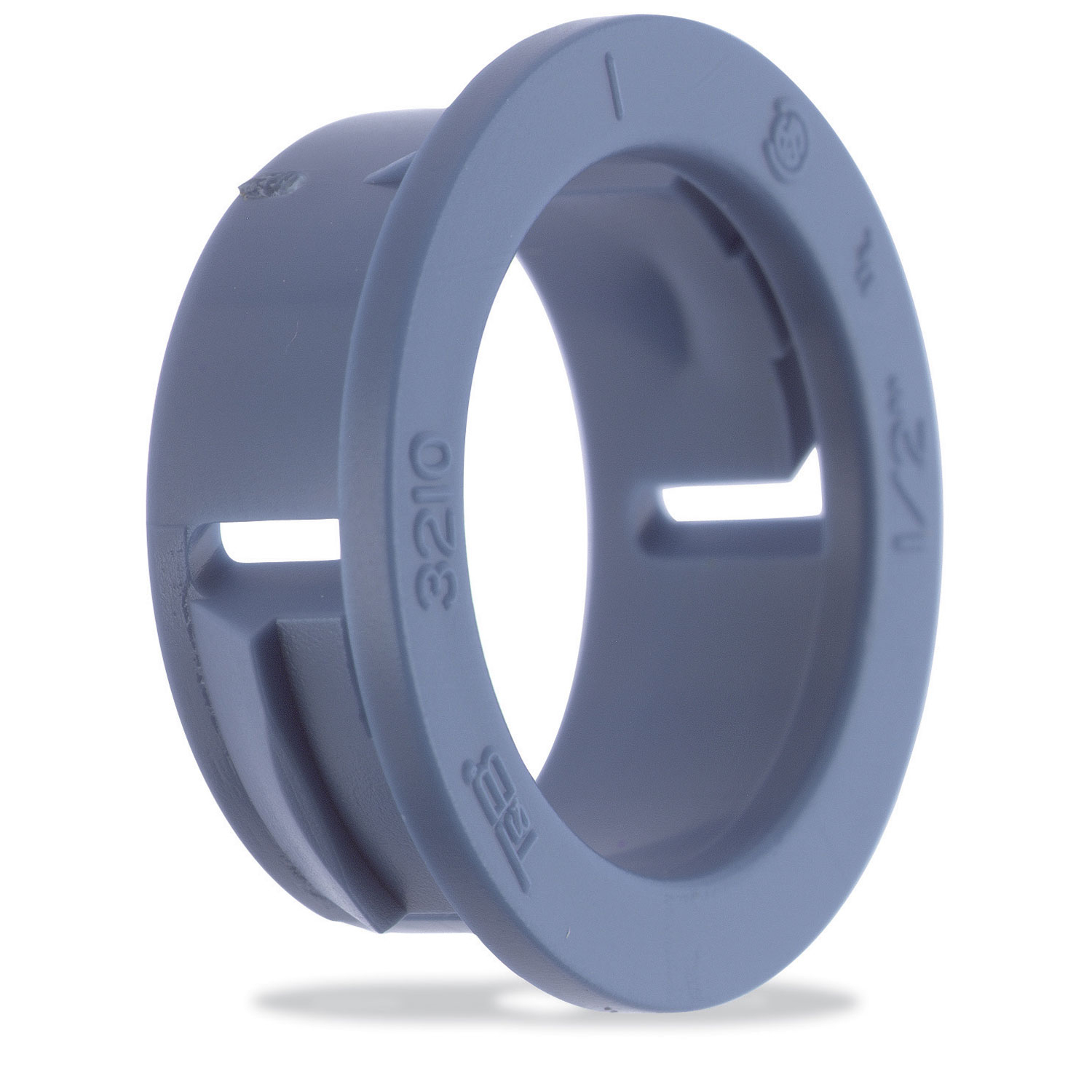 T&B,3210,T&B Industrial Fitting 3210 1-Piece Conduit Bushing, 1/2 in Trade, Polycarbonate