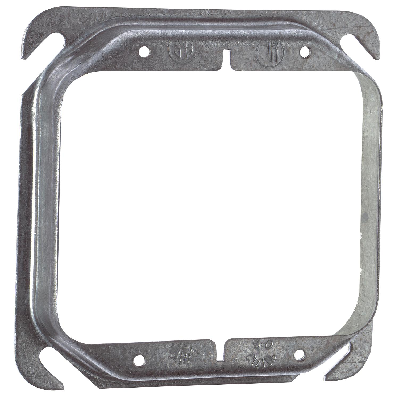 Steel City® 52-C-18 Device Cover, 4 in L x 4 in W, Steel