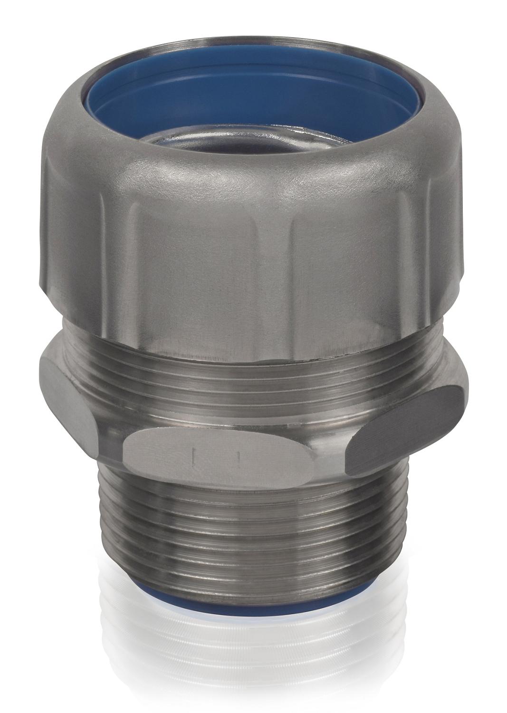 T&B Industrial Fitting,5334SST6-6,1 STRT 316 SS LT W/SS GCONE