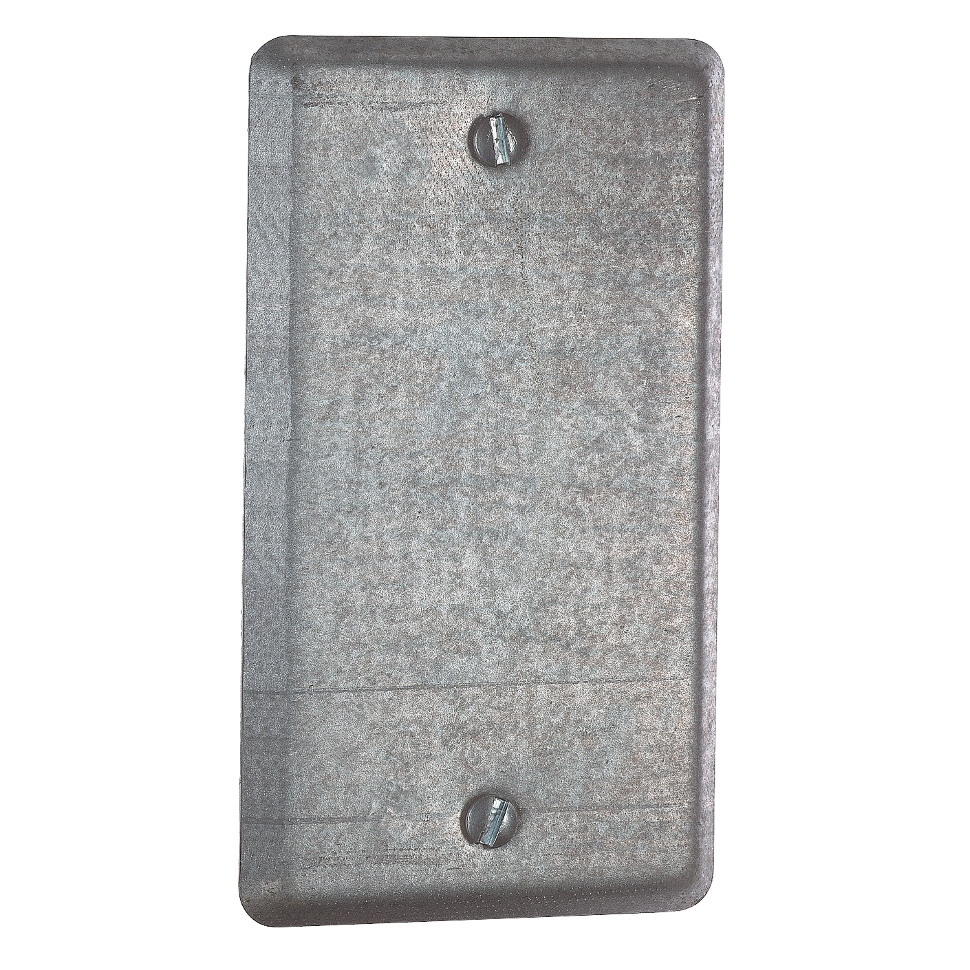 Steel City,58-C-1,Steel City® 58-C-1 Blank Utility Outlet Box Cover, 4 in L x 2-1/8 in W, Steel