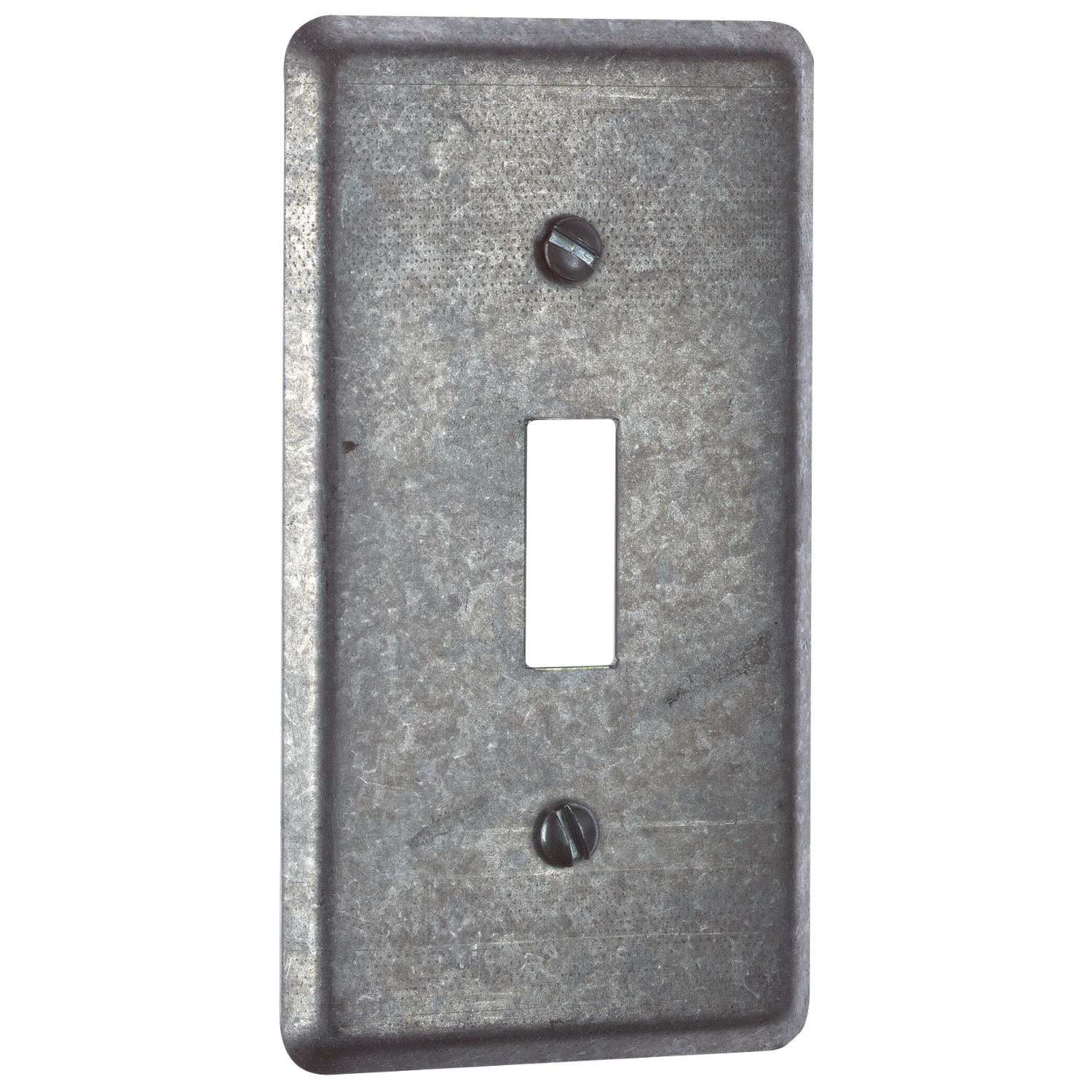 Steel City,58-C-30,Steel City® 58-C-30 Utility Outlet Box Cover With Single Toggle Switch, 4 in L x 2-1/8 in W, Steel