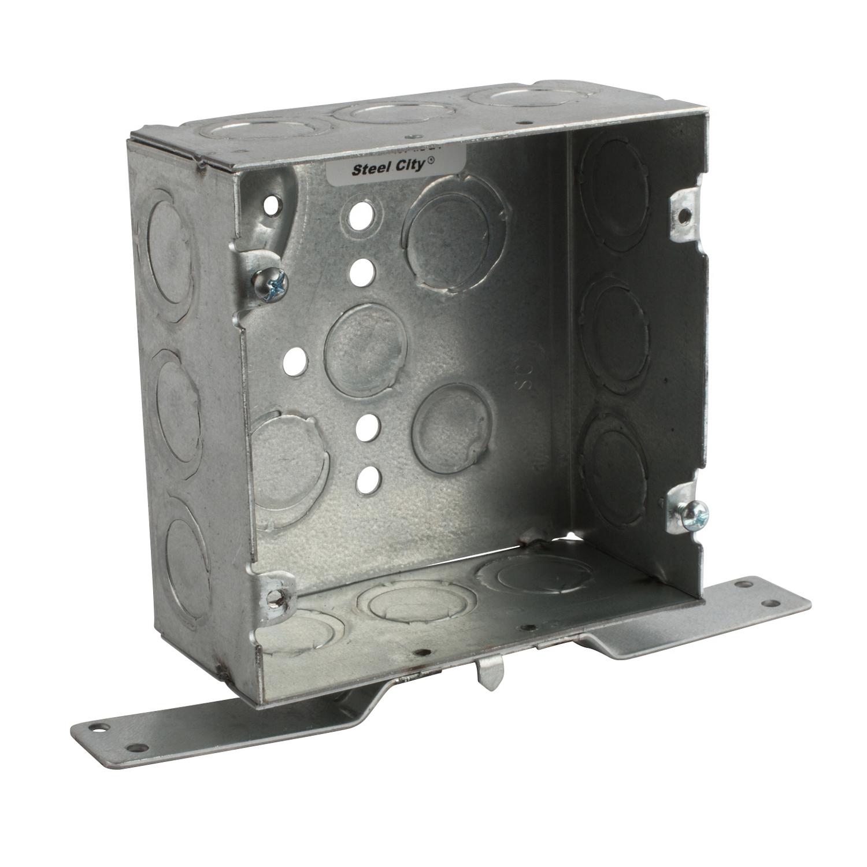 Steel City,72171CV-1/2-3/4,Steel City® 72171CV-1/2-3/4 Square Box With