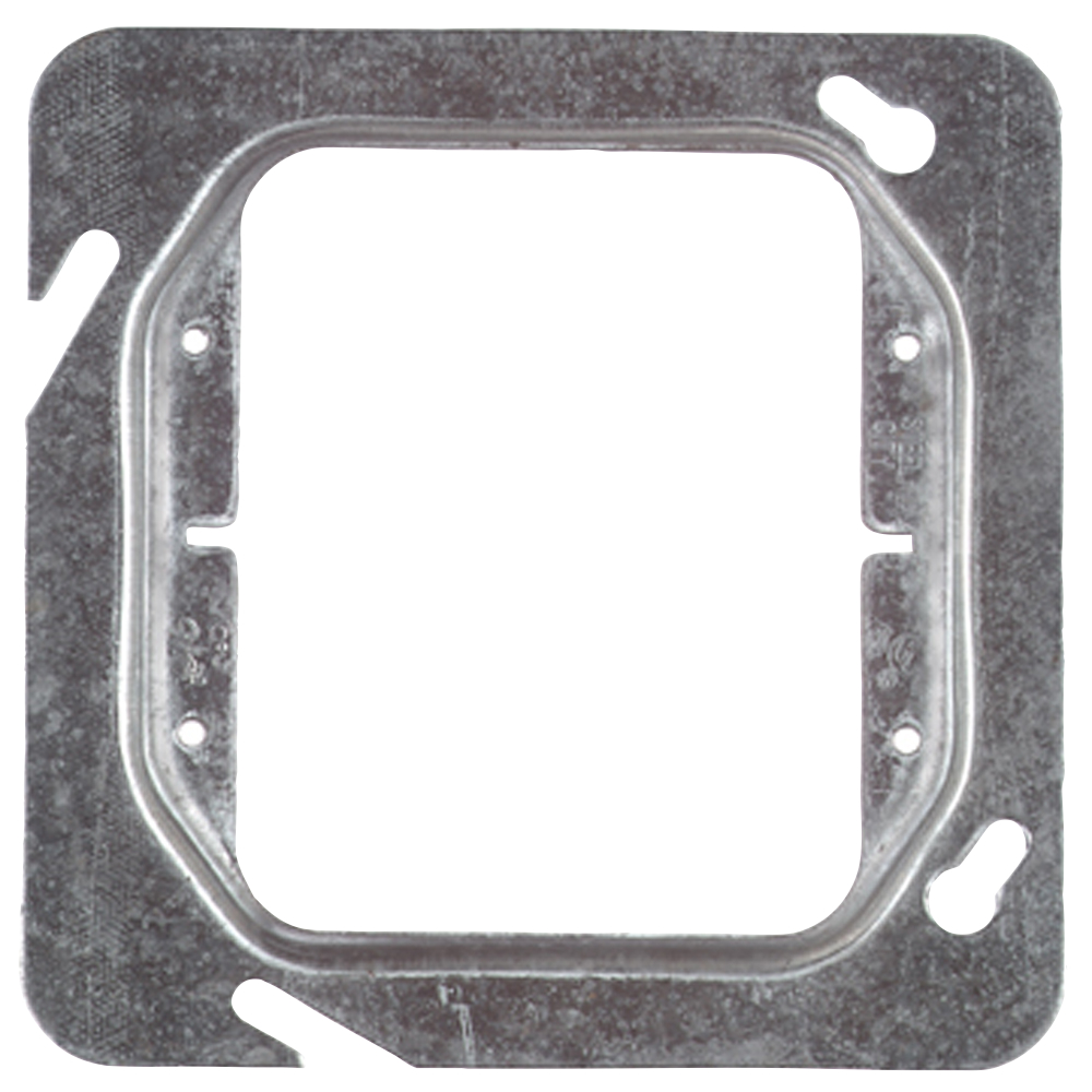 Steel City,72-C-16,Steel City® 72-C-16 Outlet Square Box Cover, 4-11/16 in L x 4-11/16 in W, Steel