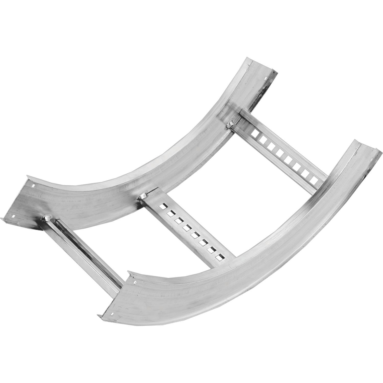 Cable Tray,AUF612LVI9012,AL.12INWX6IND IV-90 12INRAD