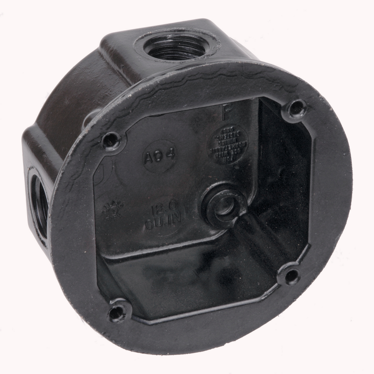 UNION AO4-12 ROUND CONDUIT BOX
