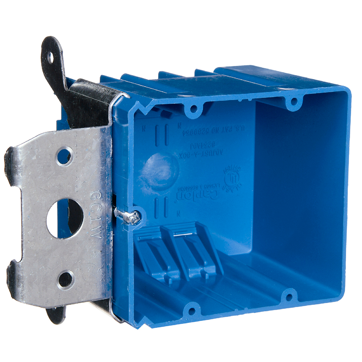 CAR B234ADJ TWO GANG ADJUSTABLE ELECTRICAL BOX