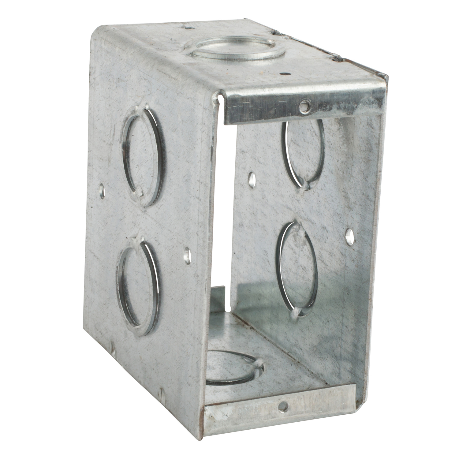 STCCBTW4 STL-CTY CBTW-4 3-1/2D MASON TH;Steel City® CBTW-4 Through-Wall Masonry Box, Steel, 24 cu-in, 1 Outlet, 6 Knockouts