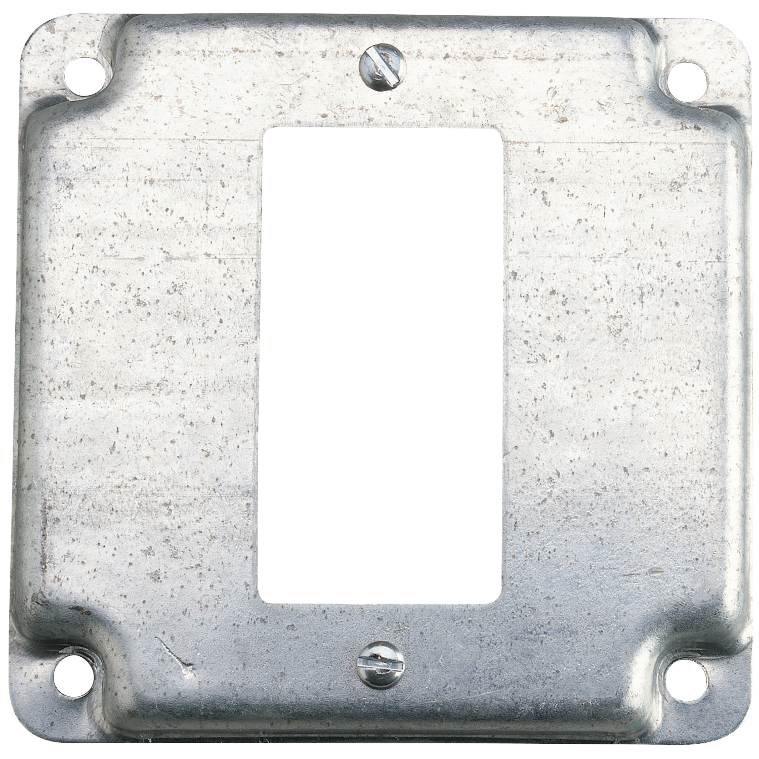 Steel City,RS-16-CC,Steel City® RS Outlet Square Box Cover, 4 in L x 4 in W, Steel
