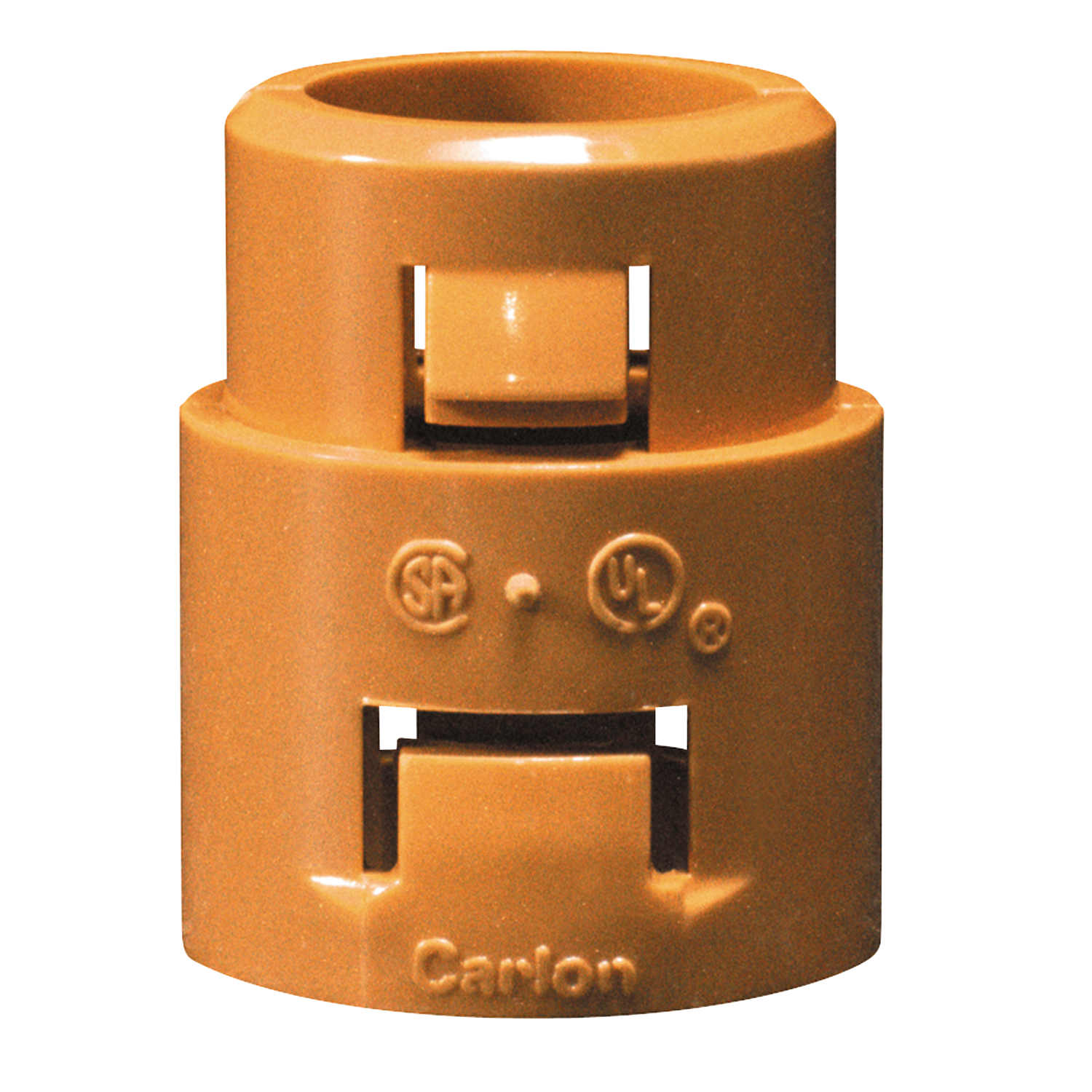 Carlon,SCA253F,Carlon® SCA253F Snap-In Adapter, 1 in, For Use With Riser-Gard™ and General Purpose Conduit, PVDF