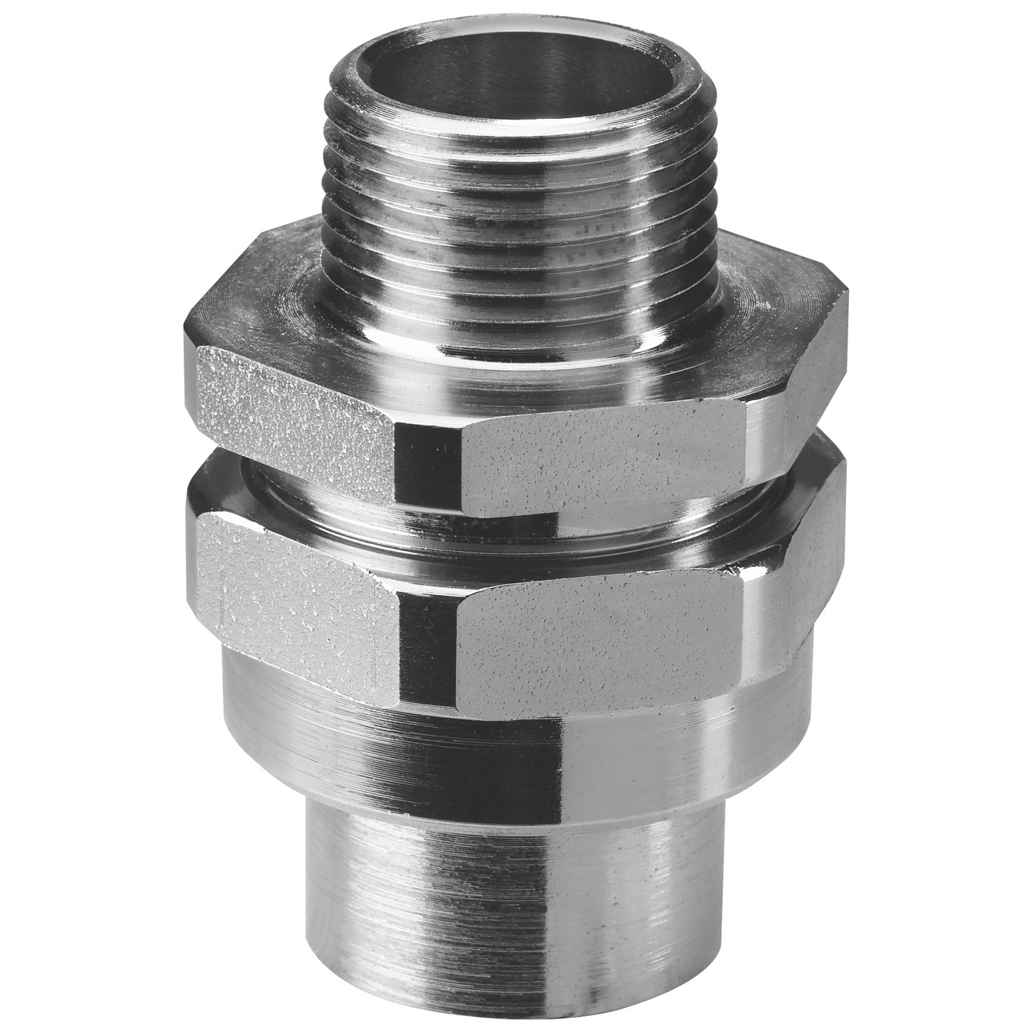 T&B Industrial Fitting,UNY-805-TB,T&B® UNY-805-TB 3-Piece Conduit Union, 3 in, Electrogalvanized Steel, Chromate