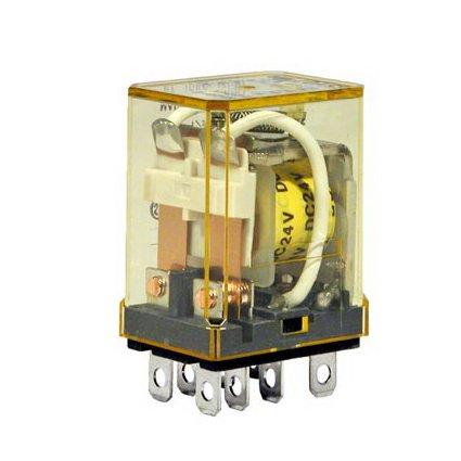 RH2B-UAC110-120V IDE RELAY 110/120VAC 10A DPDT (10-99)