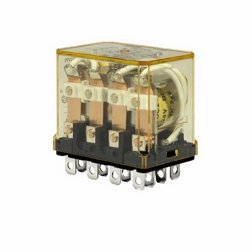 RH4B-ULAC120V IDE GP 10A 4PDT 120V RELAY WITH LIGHT