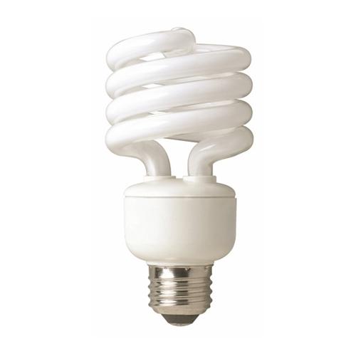 TCP 801019 TCP 19W MED BASE 2700K SPIRAL FLUOR LAMP