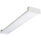 Atlas® ILH418LL Linear Slim High Bay Fixture With Glare-Free Lens, LED Lamp, 120 to 277 VAC, Painted Polyester Coated Housing