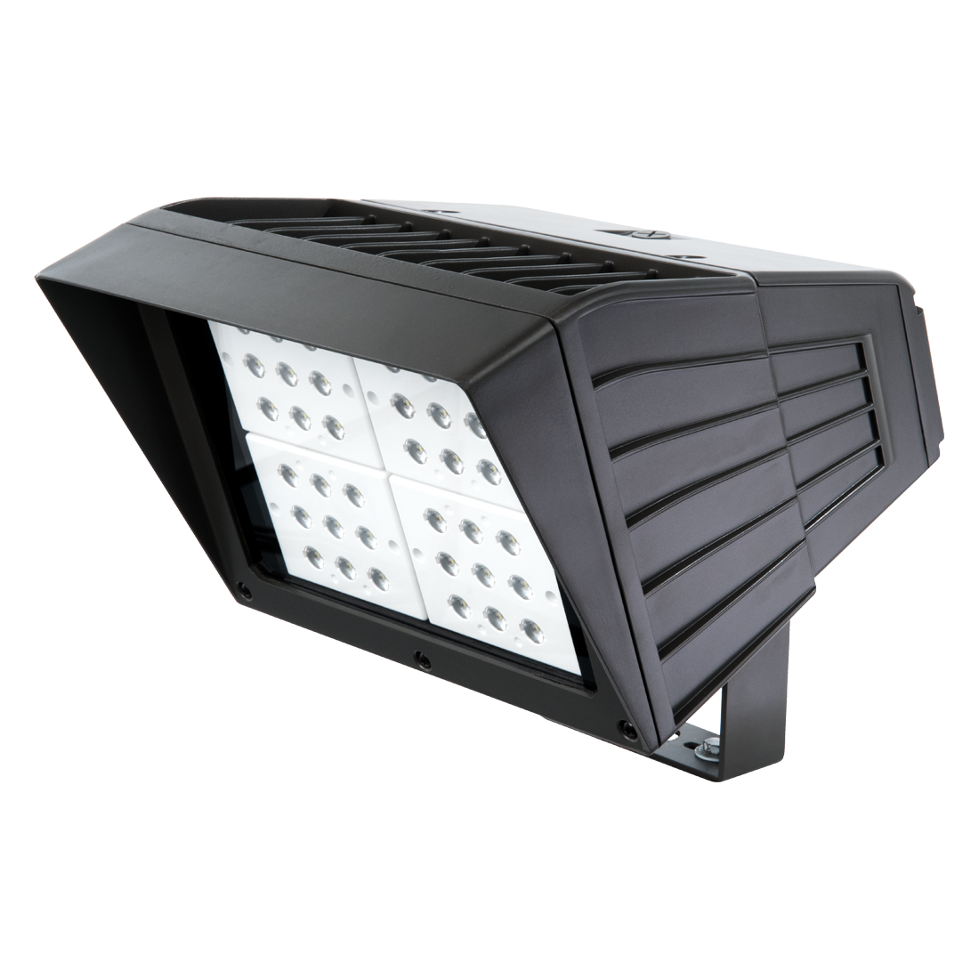 Atlas® PFL2G162LED Alpha Pro 2nd Generation Floodlight Fixture,) LED Lamp, 120 to 277 VAC, Bronze Housing