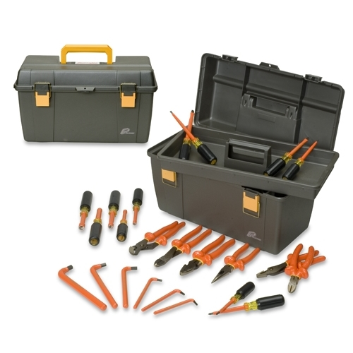 INSULATED TOOL SET,24-PIECE