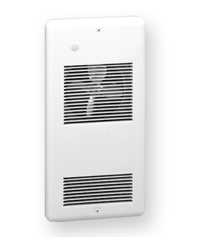 STE ARWF1501T2W STELPRO WALL FAN HEATER WHITE 750-1500W 120V W/ SP STAT