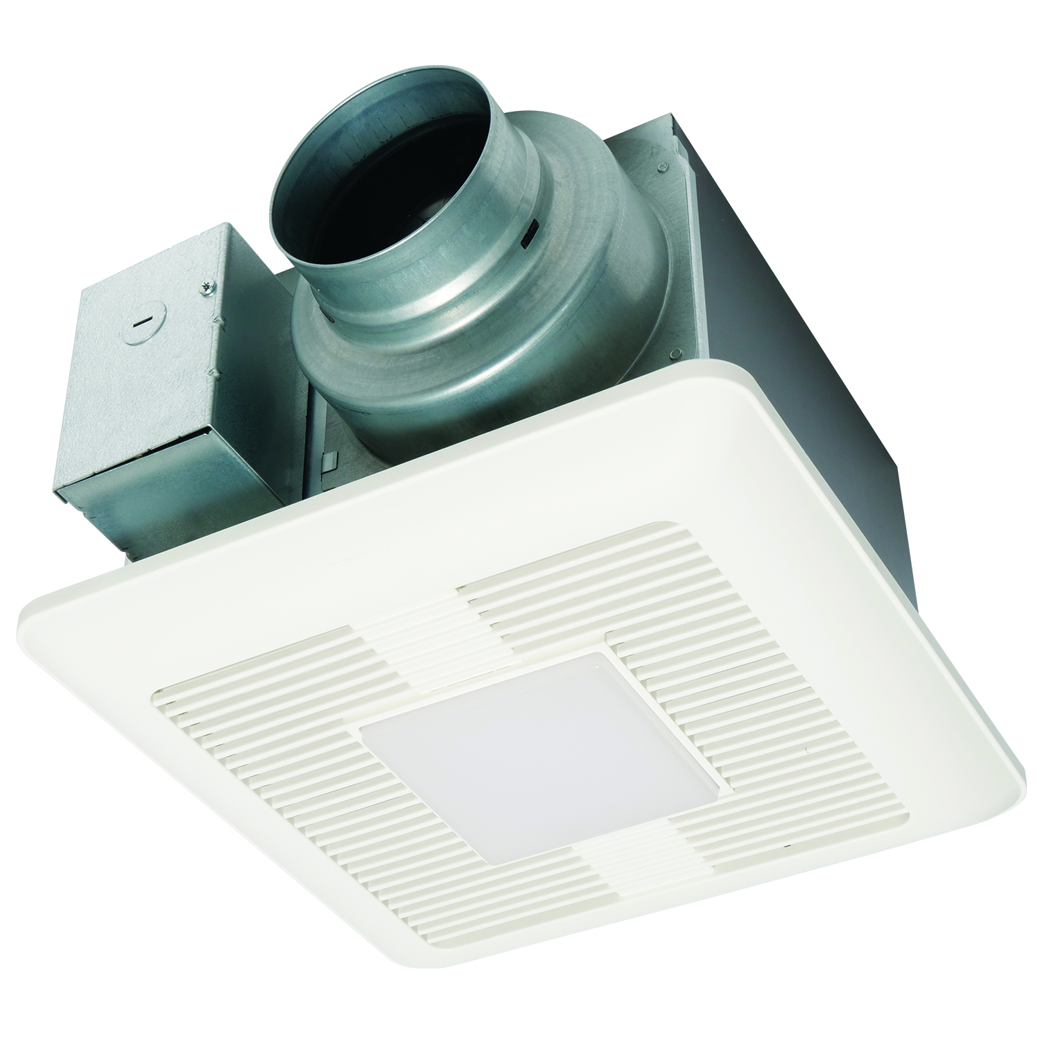 PNS FV-0511VQL1 50-80-110CFM Whisperceiling Exhaust Fan/Light - <.3 Sones - Energy Star - Speed Selector (50/80/110) NEWSTOCK NOV 2017