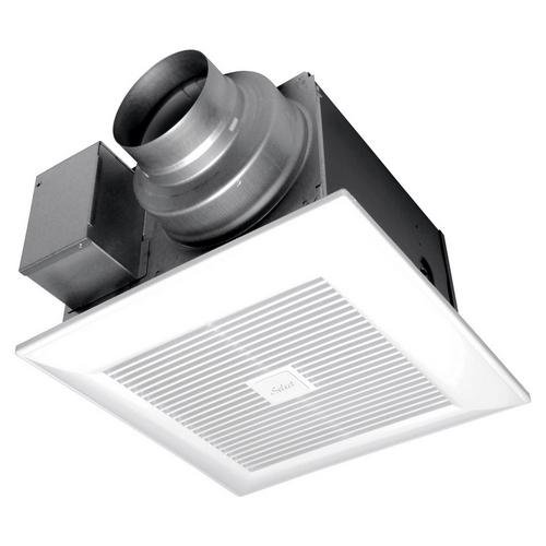 Panasonic,FV-05-11VKS1,Panasonic WhisperGreen Select™ FV-05-11VKS1 Ventilation Fan, 50/80/110 cfm, 4 in/6 in Duct, 3.2/5.5/9.8 W, 120 VAC
