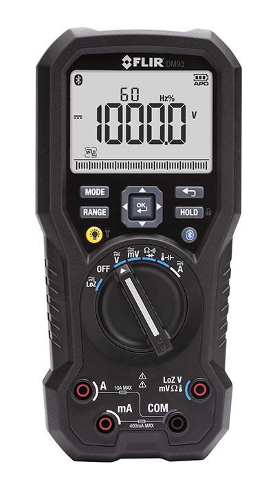 TRMS Industrial Multimeter w/METERLiNK®