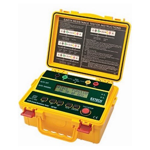 Extech,GRT300,4-WIRE EARTH GROUND RESISTANCE TESTER