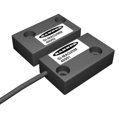 SI-MAG1MM BAN 46990 SAFETY INTERLOCK MAGNETIC SWT; RECTANGULAR MAGNET REPEAT SWITCHING ACCURACY:+/-0.1mm DIMENSIONS:88x25mm; STANDARD FORCE USED WITH: MODEL SI-MAG1C