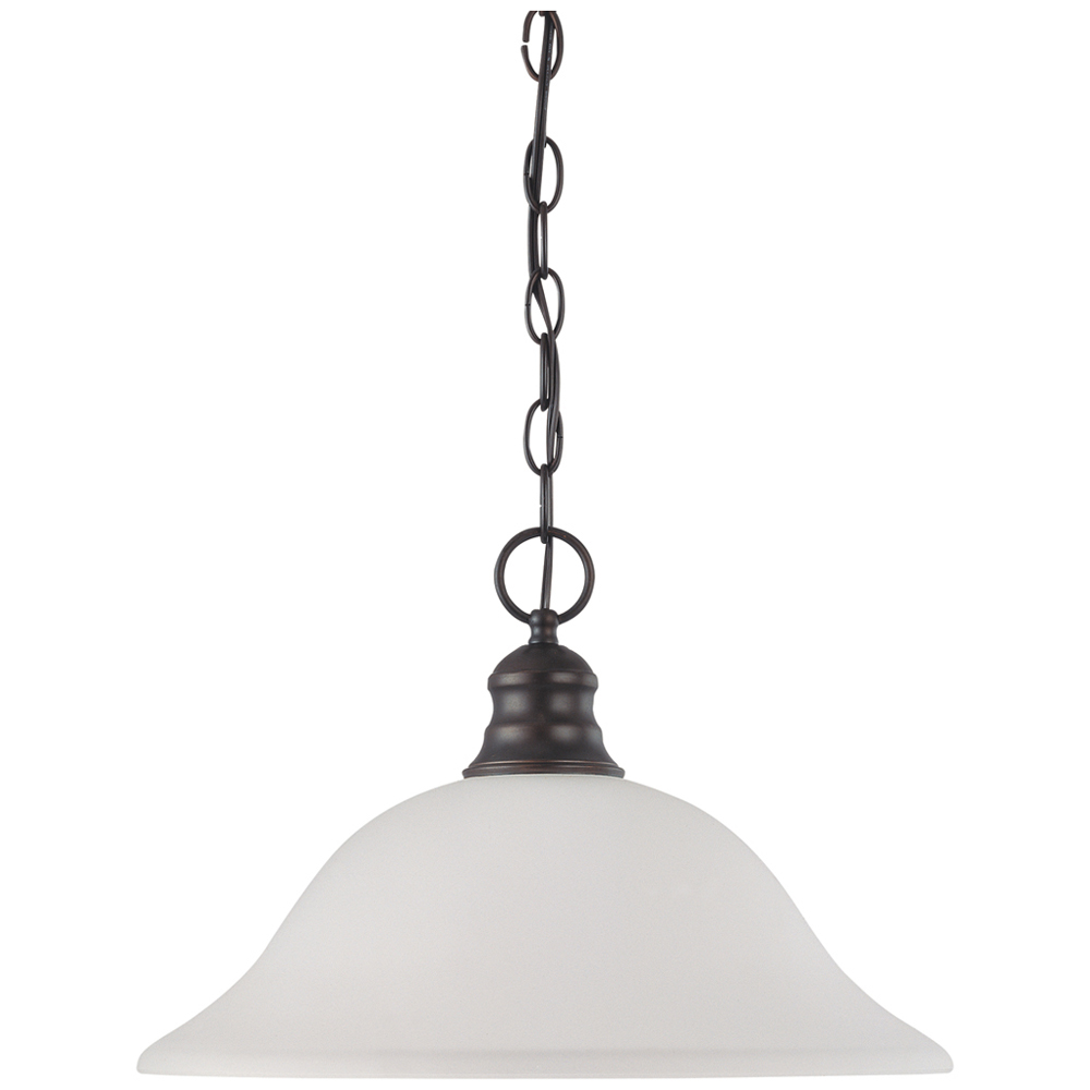 Satco,60/3173,NUVO® by SATCO 60-3173 Hanging Transitional Pendant Light Fixture, 1 A19 Incandescent Lamp, 100 W Fixture