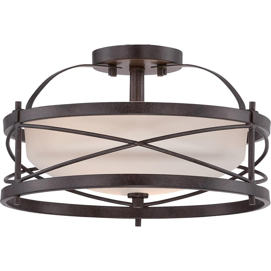 SATCO Lighting SAT605335  sc 1 st  Wabash Electric & Lighting Fixtures Indoor Lighting - Semi-Flush Mount Lighting ...