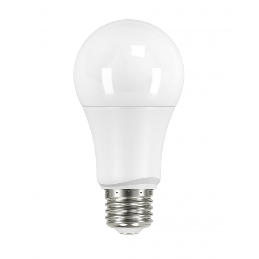 SAT S29589 9.5A19/LED/30K/ND/120V/4PK 9.5 watt; A19 LED; Frosted; 3000K; Medium base; 220' beam spread; 120 volts; Non-Dimmable; 4-Pack