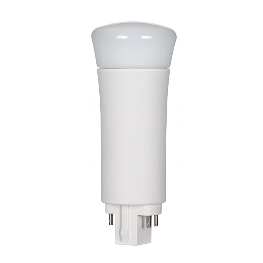 SAT S29860 9WPLV/LED/840/DR/4P 9W LED PL 4-Pin; 4000K; 1000 Lumens; G24q base; 50000 Average rated hours; 120 Deg. beam spread Replaces 26, 32, and 42 watt CFLs