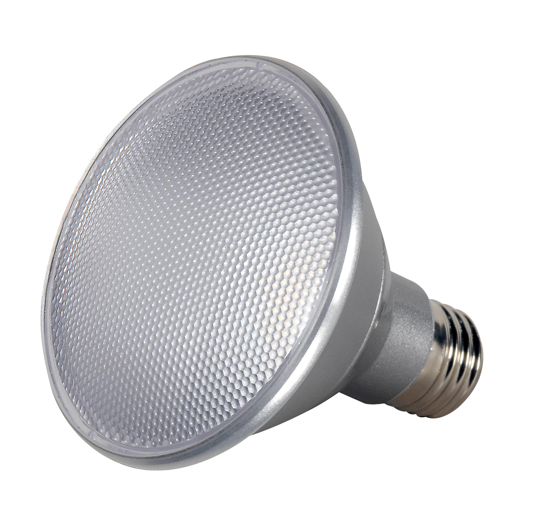 Satco,S9410,SATCO® S9410 Dimmable Reflective Lamp, 13 W, LED Lamp, Medium E26 Lamp Base, PAR30SN Shape, 1000 Lumens Initial