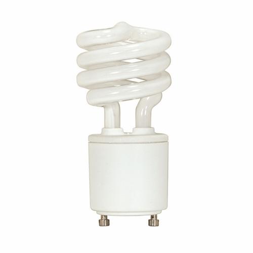 SATCO S8203 13W T2 GU24 MINI SPIRALCOMPACT FLUOR LAMP b232i