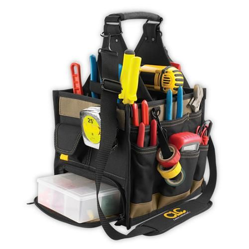 CLC,1528,TOOL WORKS TOOL CARRIER,YEL,23 POCKETS