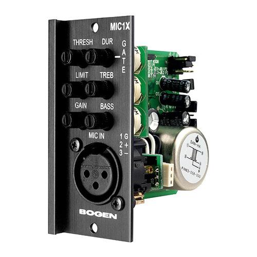MIC1X BOG Mic Input, Transformer Balanced, XLR
