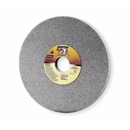 Norton Abrasives 32A SERIES GRINDING WHEEL,8 IN,3600 RPM