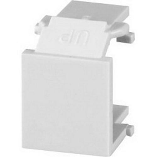SGM CMK-BL-WH SGM BLANK MODULE WHITE 10 EA = 1 BAG