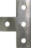 CALPIPE S60000PLTE TEE PLATE TYPE 316 STAINLESS STEEL